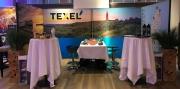 Foto's op stand van het VVV Texel.