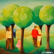Schilderij fotografie voor kunstenares Mien van As / Painting photography for artist Mien van As