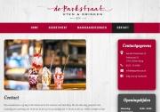 Website fotografie Eetcafe de Parkstraat 22 /  Website photography for eatery Parkstraat 22