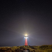 Te3xelse vuurtoren in de nacht / texel Lighthouse at night / justinsinner.nl