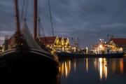 De haven in Oudeschild op Texel, 30 sec belicht / Harbor of Oudeschild on Texel, exposed for 30 sec