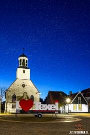 De Koog op Texel bij nacht / De Koog on Texel by night