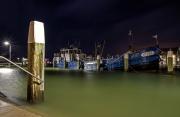 Haven van Oudeschild op Texel loopt deesl onderwater 20 sec belicht / Harbour of Oudeschild partly underwater 20 sec exposed