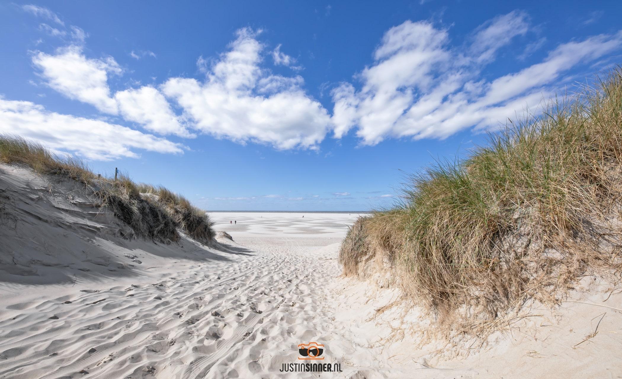 Strandopgang Texel / Beach entrance