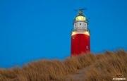 Texelse Vuurtoren tijdens het blauwe uur / Texel Lighthouse during the blue hour