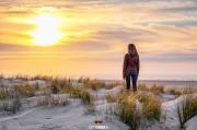 Genieten van de zonsondergang op Texel / Enjoy Texel sunsets