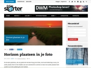 In Digifoto over het plaatsen van de horizon in je foto / In Digifoto about placing the horizon in your photo