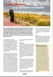 From now on my photos can be seen in the magazines and booklets of Zilte Zaken, de Koog Magazine. febr 2017.