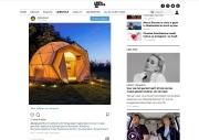 In de Lindanieuws.nl over glamping in de wereld. aug. 2018