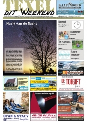 Frontpage texel dit Weekend, night of the night, Okt 2017