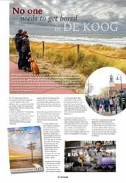 From now on my photos can be seen in the magazines and booklets of Zilte Zaken, de Koog Magazine. Apr 2017.