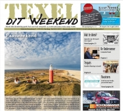 Voorpaginafoto Texel dit Weekend, apr 2018 / Frontpage Photo Texel this weekend / apr 2018