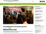 Texelse Courant - ARTEX 60 jaar. 23-01-2019