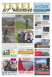 TexelditWeekend Frontpage, SuperSunday @ Texel / feb 2017
