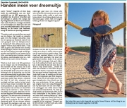 Artikel uit Texelse Courant winnaar NRC publieksprijs / Article from Texel Courant winner NRC Audience Award / aug 2016