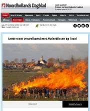 Meierblis op Texel, NHD interneteditie 30-04-2016