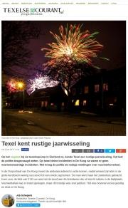 Texelse Courant, Vuurwerk op Texel / Fireworks on Texel / jan 2017