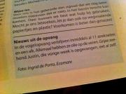 Stukje uit Texel dit Weekend, over Zeehond Justin / Excerpt from Texel this weekend, about Seal Justin / febr 2013