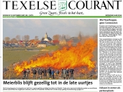 Frontpage Texelse Courant, mei / may 2016