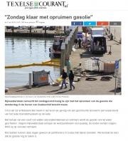 Oilleak harbour Oudeschild. Texel. Texelplaza apr 2016