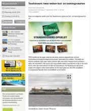 Texelstroom weer uitgesteld / Texelstroom delayed again / Texelplaza september 2016