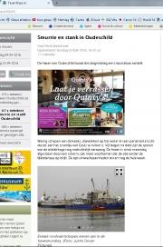 Oilleak harbour Oudeschild. Texel. Texelplaza pr 2016