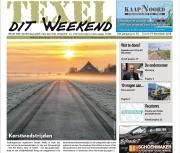 December 2018, Kerstverhalenwedstrijd, voorpaginafoto Texel dit Weekend. https://justinsinner.nl/