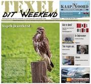 """Voorpaginafoto """"Vogelweekend"""" TexelditWeekend / Frontpagephoto """"Birdingweekend"""" Texel this Weekend / okt 2016"""