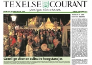 Frontpage Texelse Courant, Texel Culinair, sept 2017