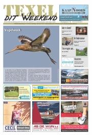 TexelditWeekend Frontpage, Birdweek @ Texel / apr 2017