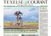 Oktober 2018, Gerrit Zijm cross op Texel, voorpaginafoto Texelse Courant. https://justinsinner.nl/