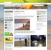 Texelplaza, Storm op Texel / Storm on Texel, jan 2017