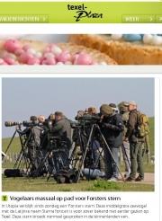 Circus der vogelaars, Texelplaza april 2016