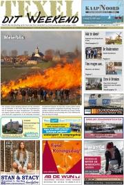 TexelditWeekend Frontpage, Meierblis @ Texel / apr 2017
