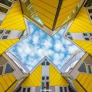 Kubuswoningen in Rotterdam  /  Cube Houses in Rotterdam / justinsinner.nl