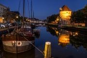 Gracht in Zwolle / Canal in Zwolle (NL)