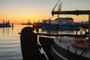 Zonsopkomst in de haven van Oudeschild op Texel / Sunrise in Oudeschild at Texel