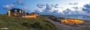 Panorama strand van de koog / Panoramic photo beach of de koog on Texel