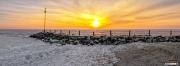 Ijskoude zonsopkomst in Oudeschild op Texel / Ice Cold winter sunrise in Oudeschild Texel