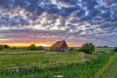 Zonsondergang op Texel / Texel sunset / justinsinner.nl