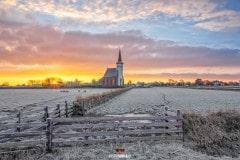ZOnsopkomst den Hoorn op Texel / Sunrise Den Hoorn on Texel.